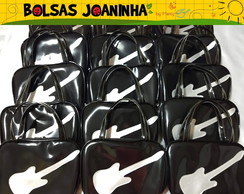 Lembrancinha Bolsa Guitarra Rock and Roll