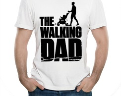 Camiseta Para Chá De Bebê Bar Pai The Walking Dad