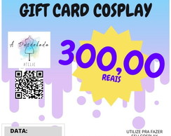 GIFT CARD COSPLAY - 300,00