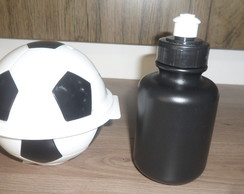 kit pote bola plasútil + squeeze 300 ml