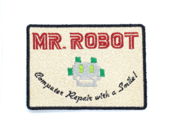 Patch Bordado Termocolante Mr Robot