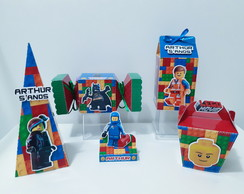 Kit Personalizados Lego Movie (50 itens)