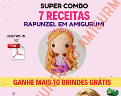 Toy Art Amigurumi Rapunzel - receita de (com imagens) | Toy art ... | 194x244
