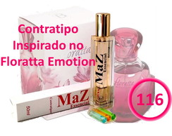 Contratipo 50ml Nº 116 Inspirado no Floratta Emotion