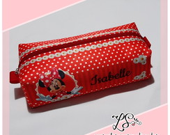 Estojo box Personalizado - Minnie