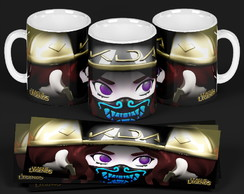 Caneca Personalizada AKALI- League of Legends 3D