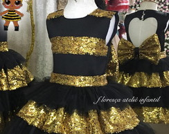 VESTIDO DE LUXO LOL QUEEN BEE REGATA