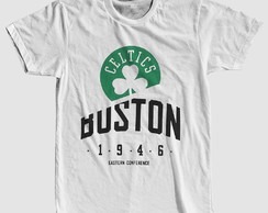 Camiseta Boston Celtics Basquete Nba Camisa Barata