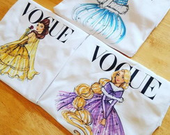 3 Baby look - Princesas Disney Vogue