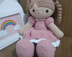 Bambola - Amigurumi | Boneca de crochê - YouTube | 194x244