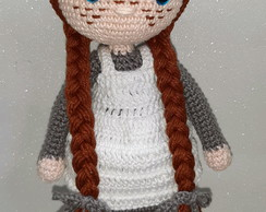 Amigurumi Anne of Green Gables - crochet pattern by Crochelandia | 194x244