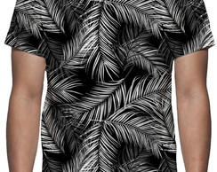 Camiseta Tropical Palmeira - Estampa Total
