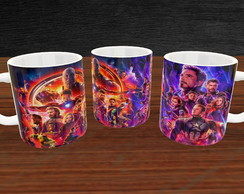 Caneca Marvel posteres
