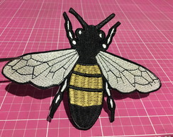 PATCH BORDADO ABELHA BEE INSPIRED TERMOCOLANTE - GRANDE