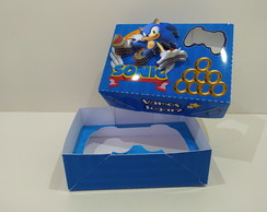 arquivo de corte caixa Joystick video game Sonic