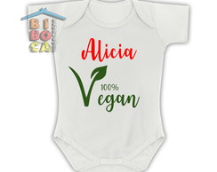 "Body Personalizado ""Vegan"""