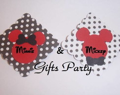 Selo Minnie & Mickey Aplique