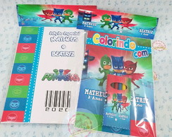 Kit Colorir Pj Mask