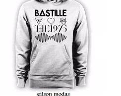 blusa moletom canguru Bastille Nbhd The 1975 Arctic Monkeys