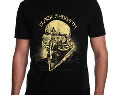 Camiseta Black Sabbath Banda de Rock