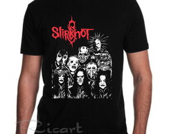 Camiseta Slipknot Banda de Rock