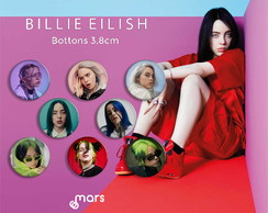 Bottons Billie Eilish 3,8cm