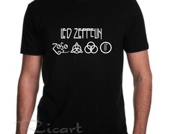 Camiseta Led Zeppelin Banda de Rock