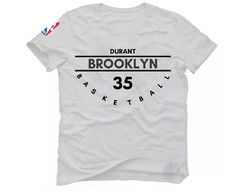 Camiseta Kevin Durant Basquete Nba Brooklyn Nets Camisa