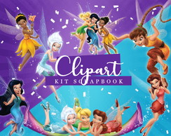 Kit Scrapbook: Cliparts Sininho