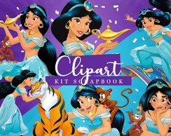 Kit Scrapbook: Cliparts Jasmine