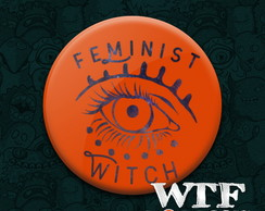 Ímã Feminist witch