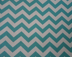 PVC Chevron Tiffany