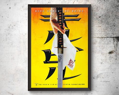 Quadro A3 Poster KILL BILL
