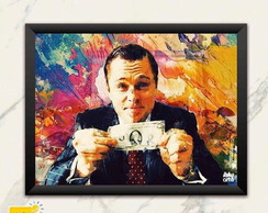 Quadro The Wolf of Wall Street.