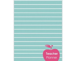 Teacher Planner Vila Simples (Arquivo Digital)