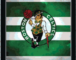 Quadro Decorativo - NBA Celtics 30x30 cm