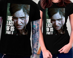 Camiseta The Last of Us Parte 2 PS4 Jogos Game Blusa