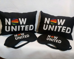 20 Kit Almofada Tam:20x30 Tapa Olho Now United