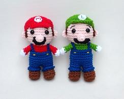 Luigi [CROCHET FREE PATTERNS | Mario crochet, Croche para ... | 194x244