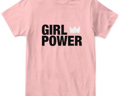 Camiseta Frase Girl Power