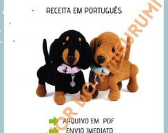 Micro Beagle Dog Crochet - amigurumi miniatures - Dog stuffed ...   194x244