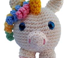 34 Melhores Ideias de Amigurumi Unicornio Receita em 2020 ...   194x244