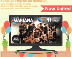 Painel DIGITAL para TV - Now United
