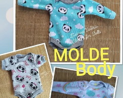 MOLDE BODY MINI BB REBORN SALIA
