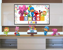 Kit Festa no rack - Pocoyo