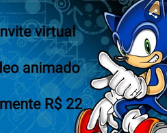 Convite virtual animado