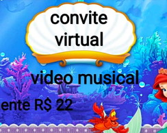 Convite virtual digital