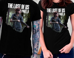 Camiseta The Last of Us Parte 2 Jogos Game Blusa Ellie