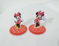 Aplique 3d Minnie