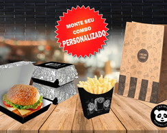 Combo Fast Food Embalagens Personalizadas